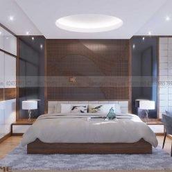 mẫu giường ngủ gỗ công nghiệp ECO18 (1)