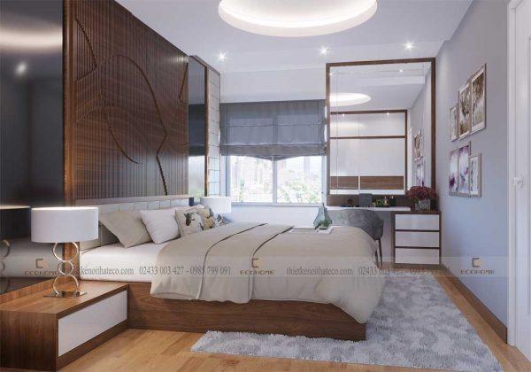 mẫu giường ngủ gỗ công nghiệp ECO18 (2)