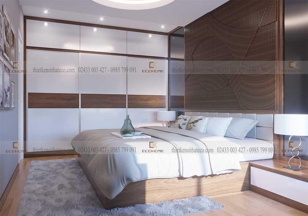 mẫu giường ngủ gỗ công nghiệp ECO18 (3)