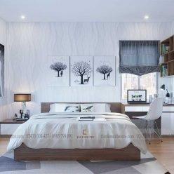 mẫu giường ngủ gỗ công nghiệp ECO19 (1)