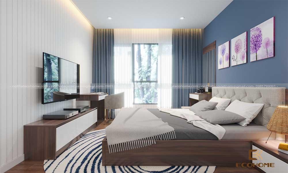 mẫu giường ngủ gỗ công nghiệp ECO20 (2)