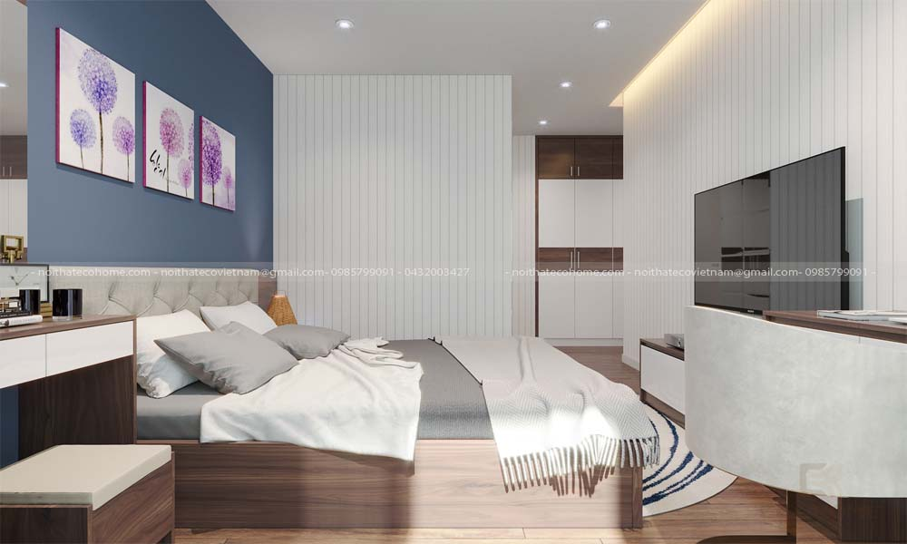 mẫu giường ngủ gỗ công nghiệp ECO20 (3)