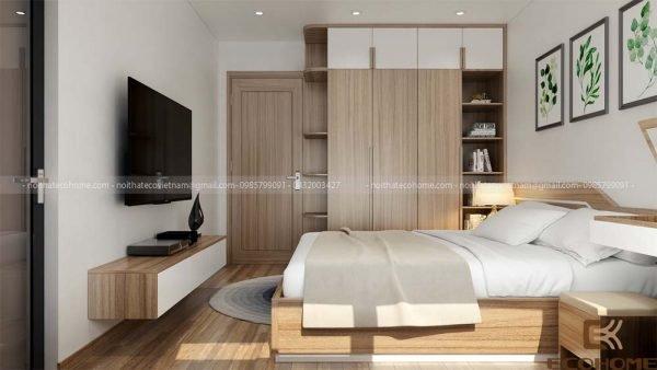 mẫu giường ngủ gỗ công nghiệp ECO21 (2)