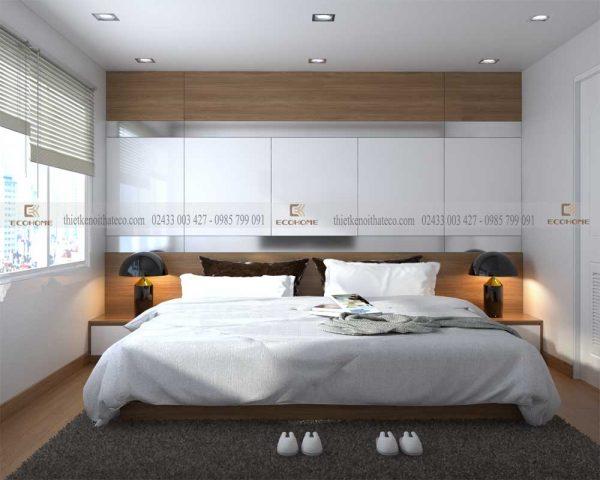 mẫu giường ngủ gỗ công nghiệp ECO22
