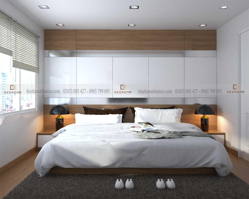 mẫu giường ngủ gỗ công nghiệp ECO22 (1)