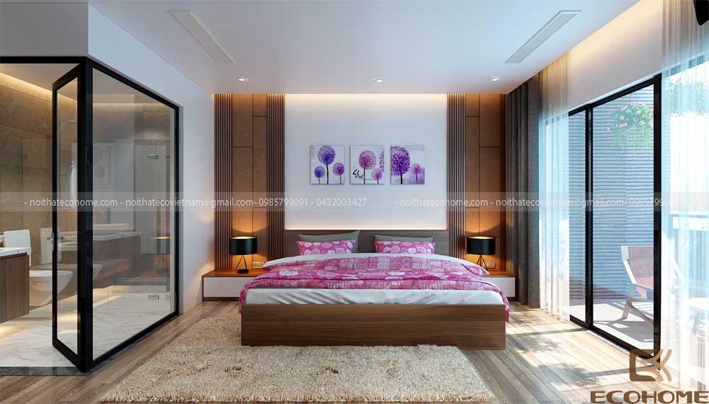 mẫu giường ngủ gỗ công nghiệp ECO24 (1)