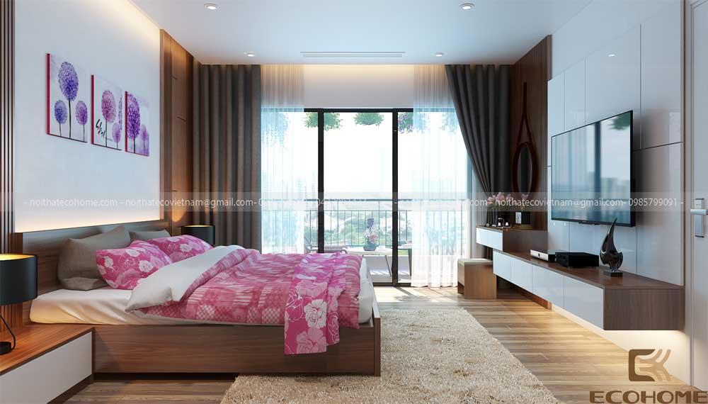 mẫu giường ngủ gỗ công nghiệp ECO24 (2)