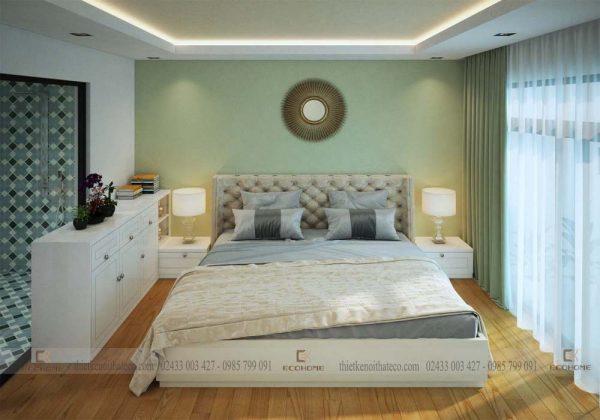 mẫu giường ngủ gỗ công nghiệp ECO25