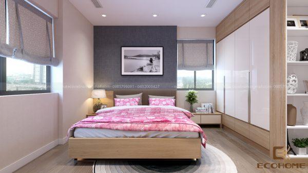 mẫu giường ngủ gỗ công nghiệp ECO26 (1)