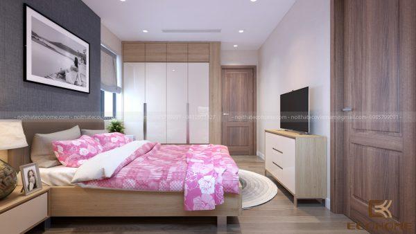 mẫu giường ngủ gỗ công nghiệp ECO26 (2)