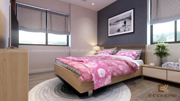 mẫu giường ngủ gỗ công nghiệp ECO26 (3)