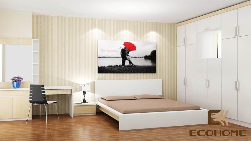 mẫu giường ngủ gỗ công nghiệp ECO28