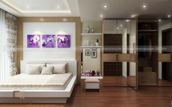 mẫu giường ngủ gỗ công nghiệp ECO30 (1)