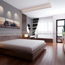 mẫu giường ngủ gỗ công nghiệp ECO31 (1)