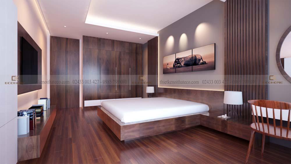 mẫu giường ngủ gỗ công nghiệp ECO31 (2)