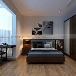 mẫu giường ngủ gỗ công nghiệp ECO32 (1)