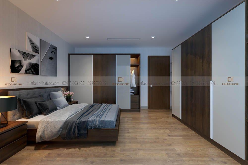 mẫu giường ngủ gỗ công nghiệp ECO32 (2)