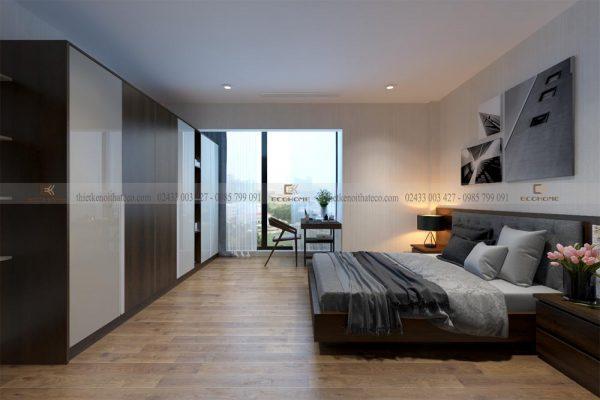 mẫu giường ngủ gỗ công nghiệp ECO32 (3)