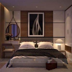 mẫu giường ngủ gỗ công nghiệp ECO33 (1)