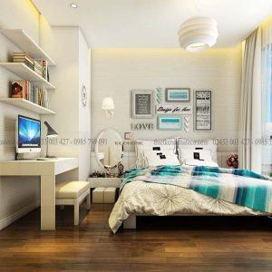 mẫu giường ngủ gỗ công nghiệp ECO34 (1)