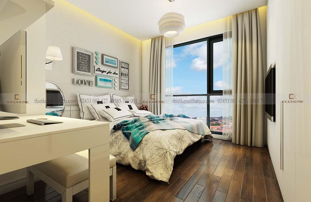 mẫu giường ngủ gỗ công nghiệp ECO34 (2)