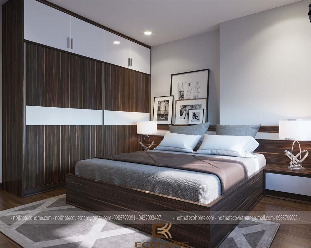 mẫu giường ngủ gỗ công nghiệp MFC ECO17 (1)