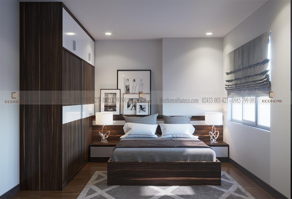 mẫu giường ngủ gỗ công nghiệp MFC ECO17 (2)