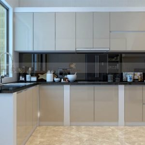 mẫu tủ bếp acrylic ECO50