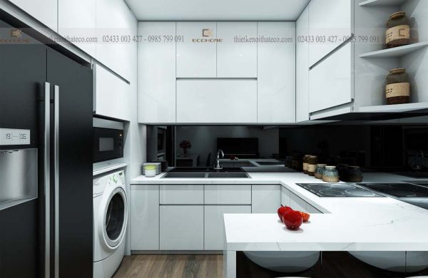 mẫu tủ bếp acrylic ECO53 (1)