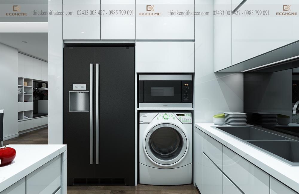 mẫu tủ bếp acrylic ECO53 (3)