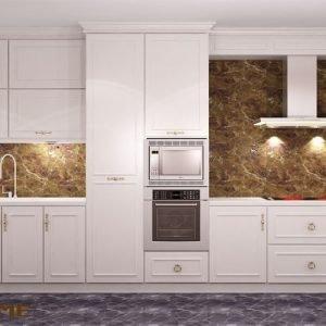 mẫu tủ bếp gỗ tự nhiên đẹp ECO46 (2)