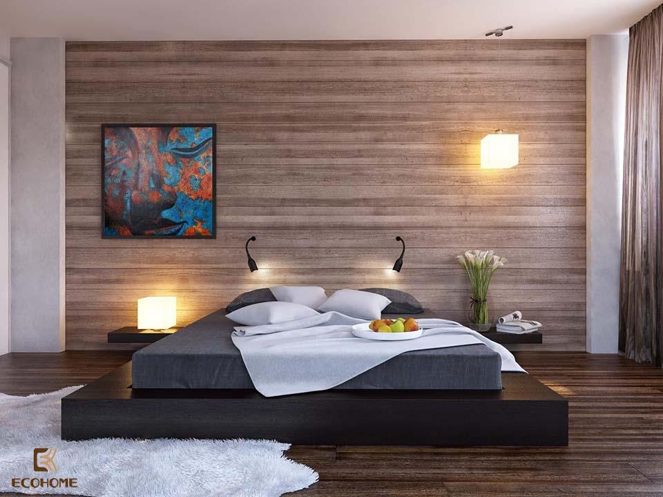 phòng ngủ phong cách tối giản 10