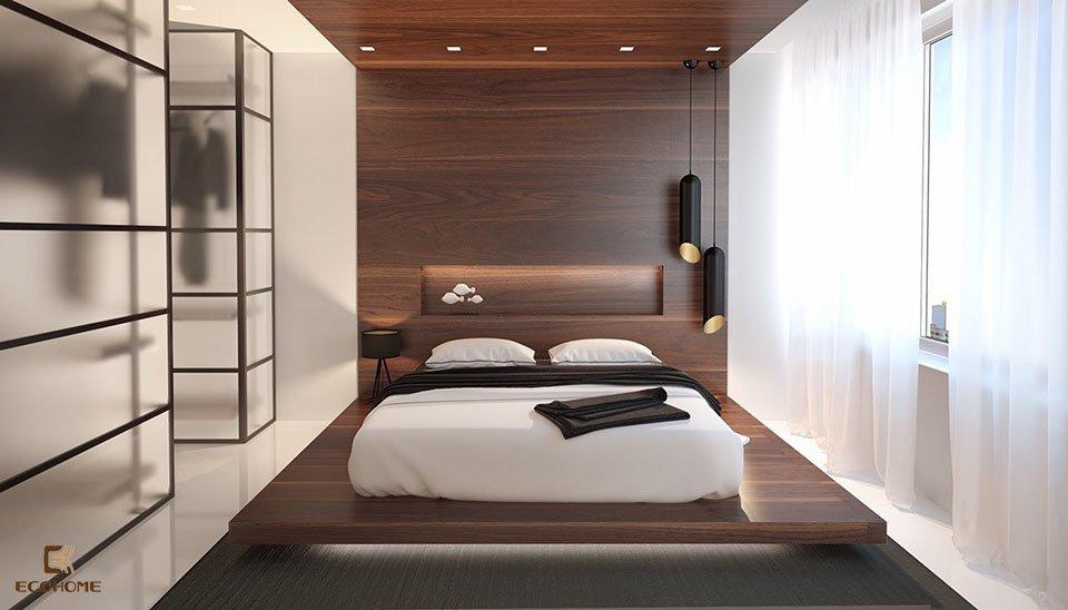 phòng ngủ phong cách tối giản 12