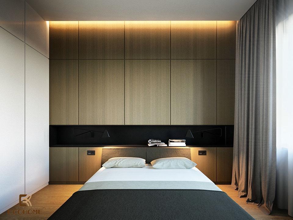 phòng ngủ phong cách tối giản 13