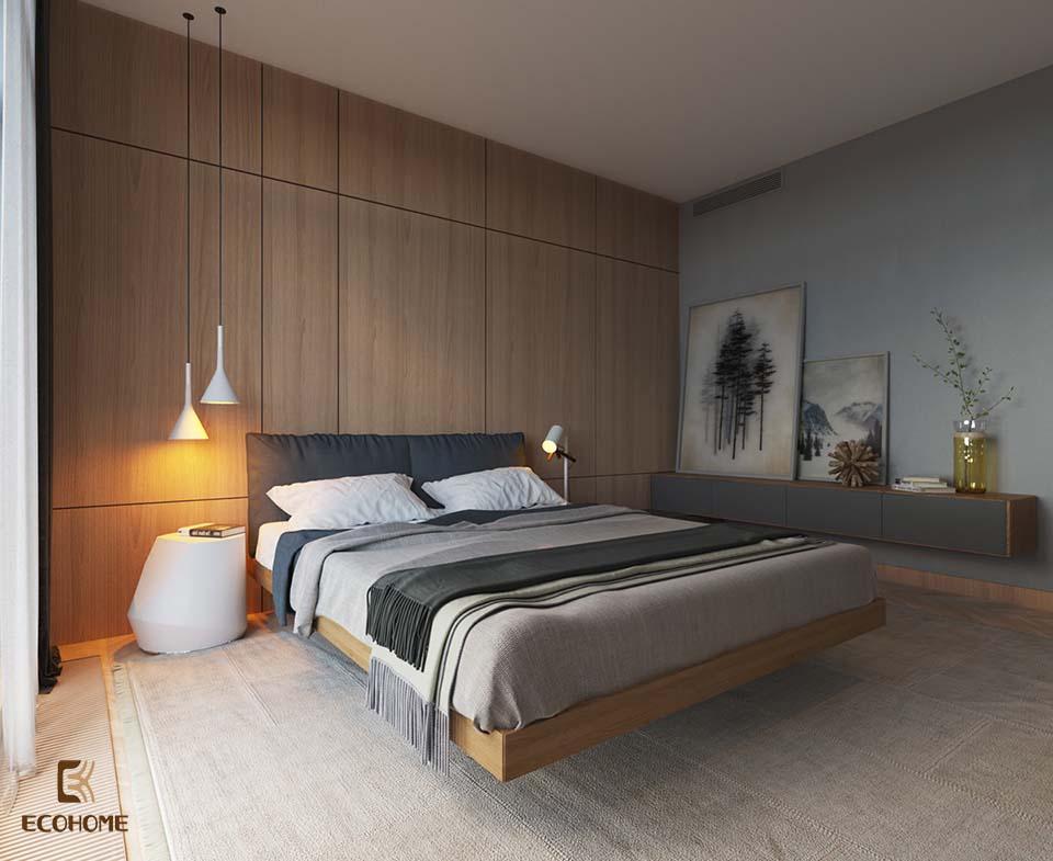 phòng ngủ phong cách tối giản 14