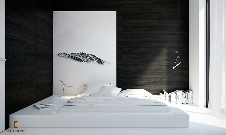 phòng ngủ phong cách tối giản 16