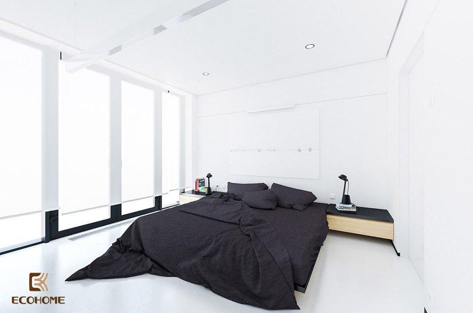 phòng ngủ phong cách tối giản 17