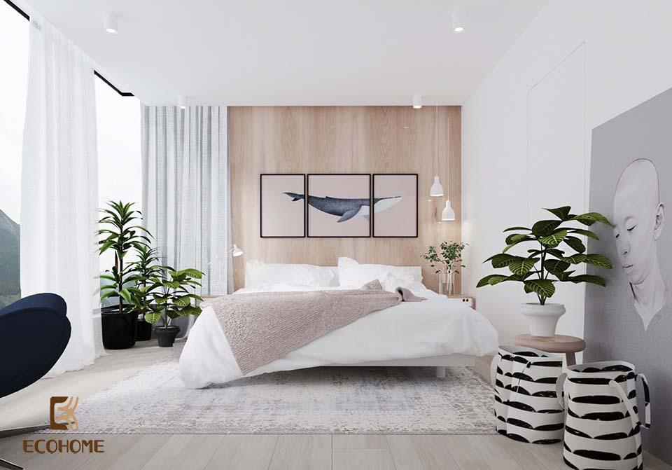 phòng ngủ phong cách tối giản 2