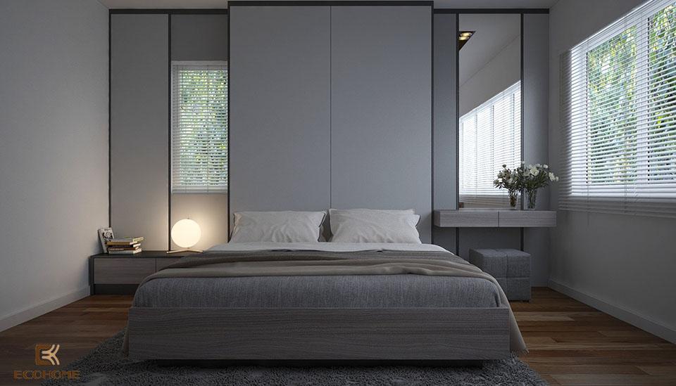 phòng ngủ phong cách tối giản 20