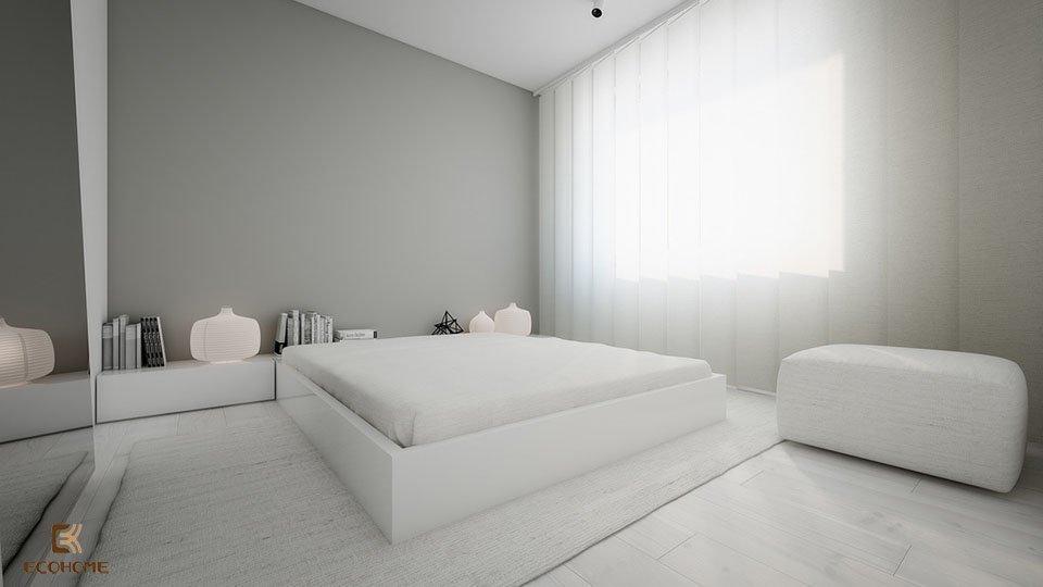 phòng ngủ phong cách tối giản 22