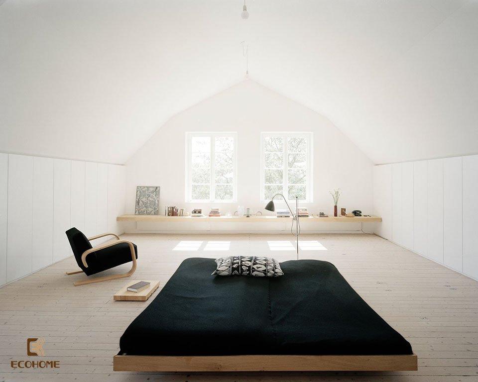 phòng ngủ phong cách tối giản 25
