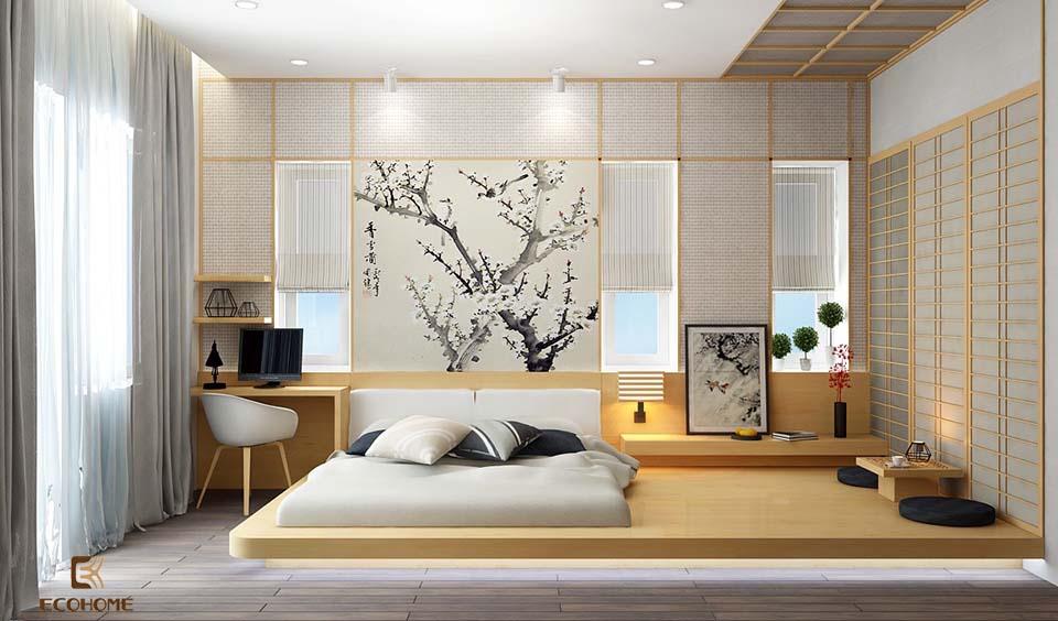 phòng ngủ phong cách tối giản 26