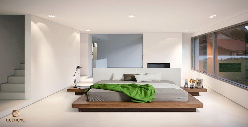 phòng ngủ phong cách tối giản 27