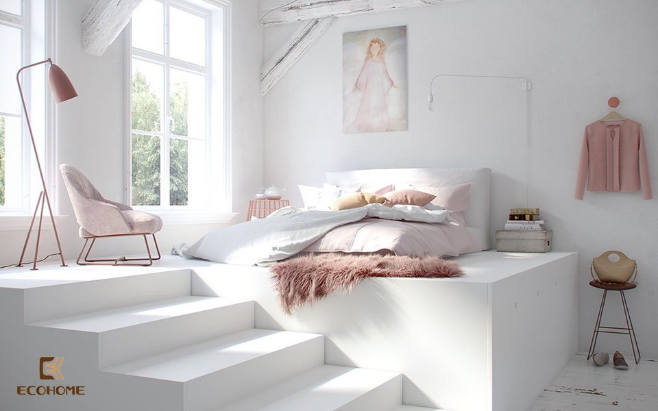 phòng ngủ phong cách tối giản 29