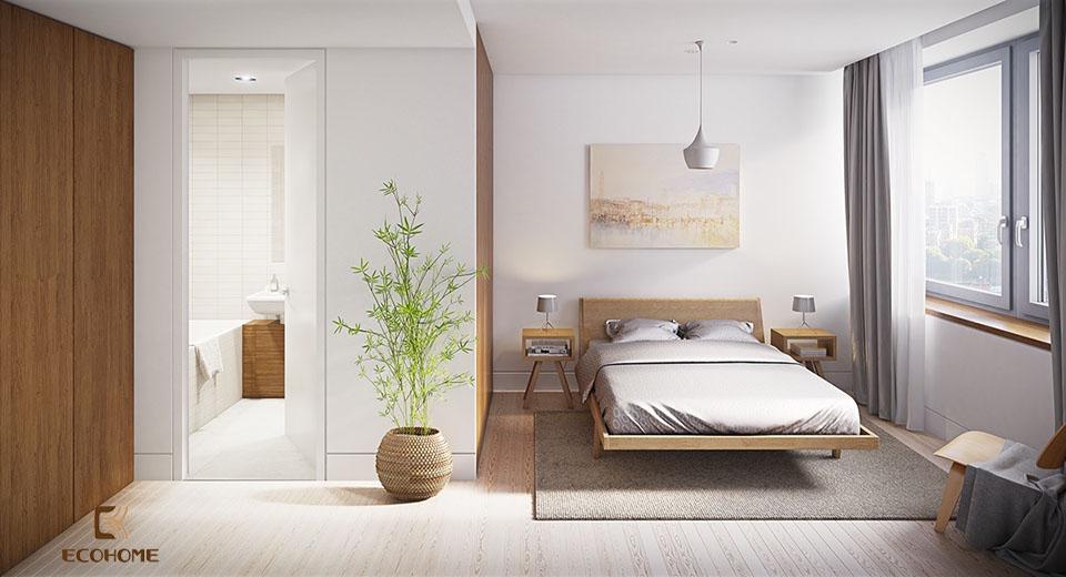 phòng ngủ phong cách tối giản 4