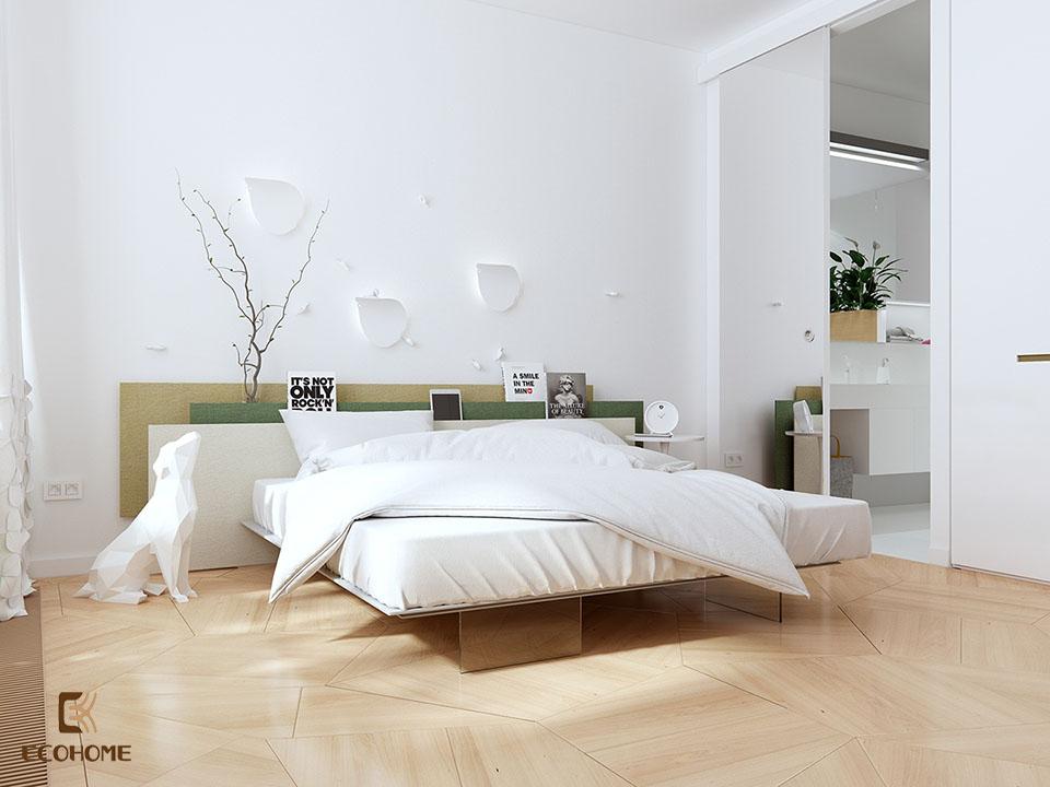 phòng ngủ phong cách tối giản 5