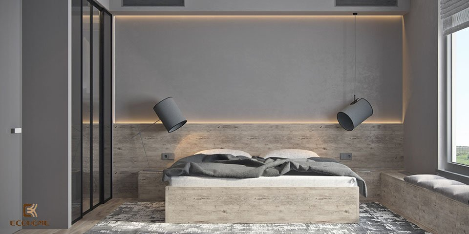 phòng ngủ phong cách tối giản 7