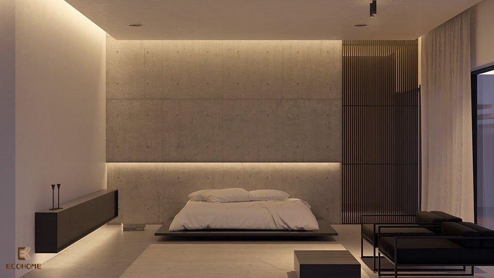 phòng ngủ phong cách tối giản 9