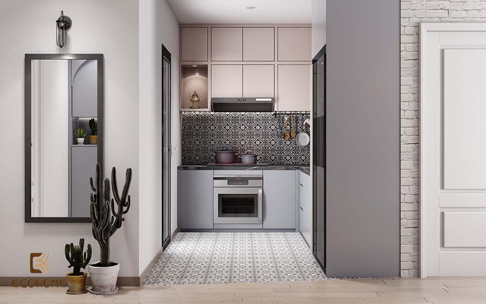thiết kế nhà bếp nhỏ gọn 1