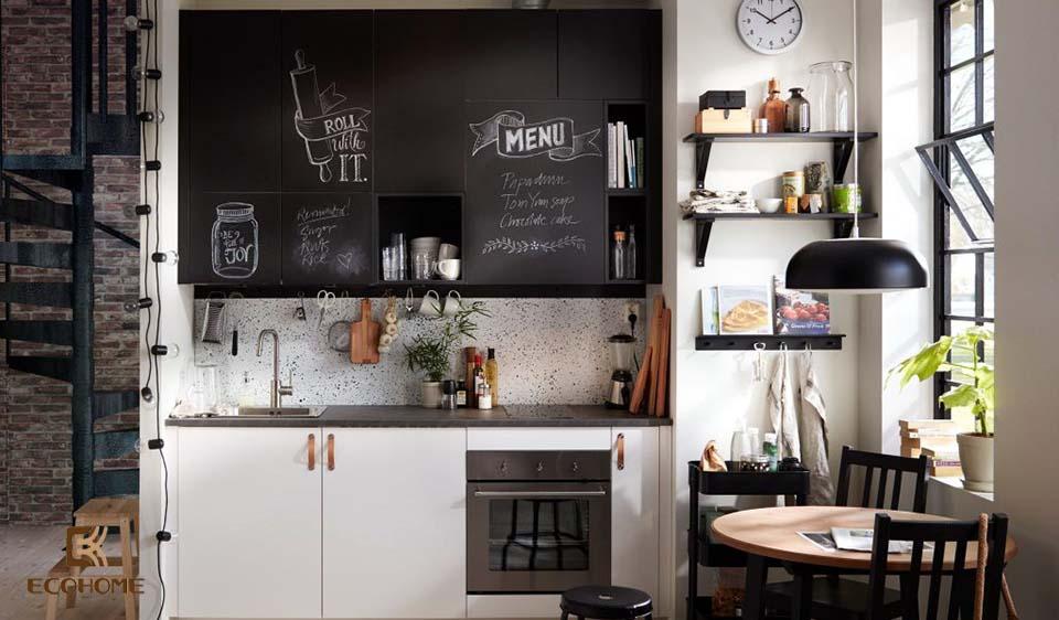 thiết kế nhà bếp nhỏ gọn 11